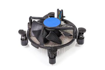 Dusty and dirty cpu fan