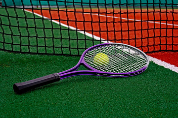 Tennis Ball & Racket-3
