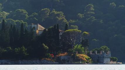 Island Mljet, monastery