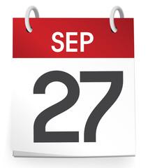 27th of September