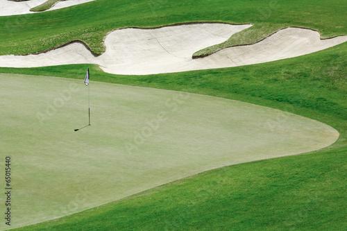 Fototapeta Golf course