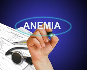 Anemia Concept