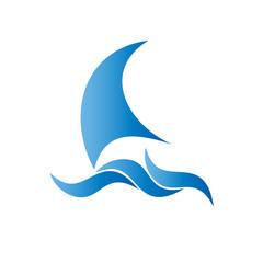 логотип парус