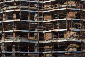 impalcature e costruzioni edilizia