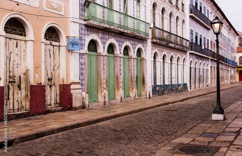 Leinwanddruck Bild Sao Luis, brazilian colonial city