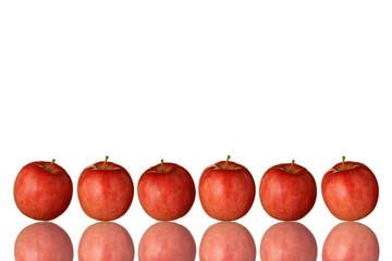 赤リンゴのフレーム