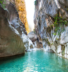 Deep Harmony Canyon in Turkey
