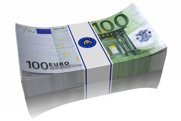 € 100 mazzetta