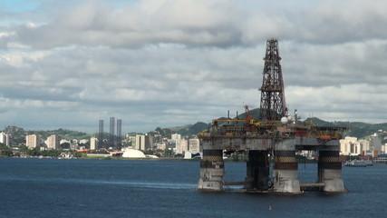 Brazil - Oil Rig In Rio de Janeiro