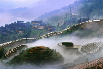 The image of travel destinations in China,Asia