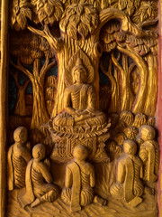 Buddha images carving