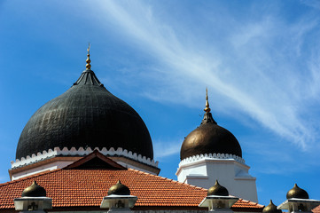 Dome and minarets of masjid