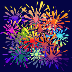 Colorful Splash-Vector