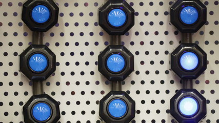Wall lights lamps with shifty