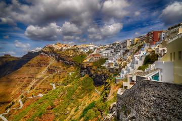 Fira city, Santorini