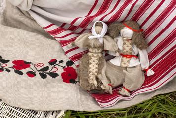 Две рукодельные белорусские игрушки