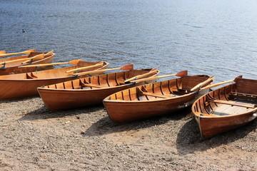 barche sul lago Titisee - Foresta nera