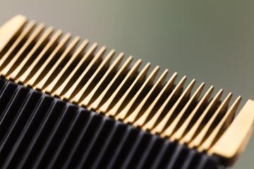 shot of a hair clipper head