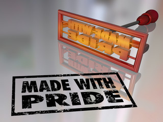 Made With Pride Branding Iron Proud Mark Handcraft Product