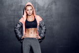 Fototapety young fitness woman