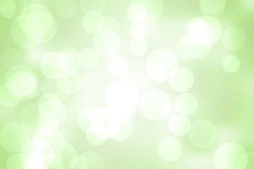 Green abstract light spot design