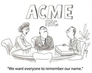 """""""We want everyone to remember our name."""""""