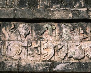 relief of Chichen itza