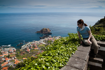 Observing Porto Moniz