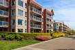 Leinwanddruck Bild - Apartment Building