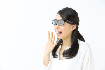 3D・若い女性