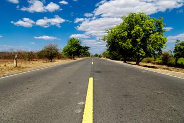Nicaraguan road view