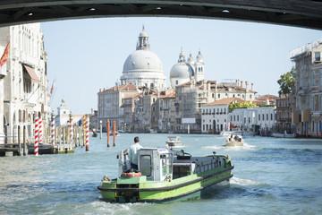 Venice boat traffic