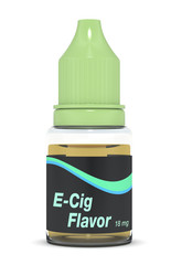 e-cig flavor bottle