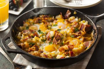 Homemade Hearty Breakfast Skillet