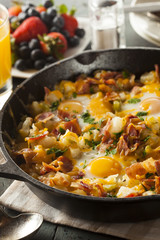 Homemade Hearty Breakfast Skillet