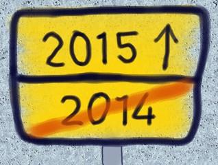 Von  2014 nach 2015