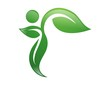 logo symbol icon nature health active people leaf natural