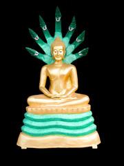 Colorful buddha image