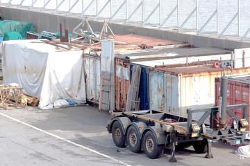 Deposito di camion
