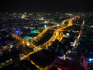 ベトナム ホーチミン市夜景