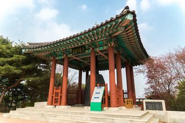 世界遺産 水原華城 孝園の鐘(ソウル)