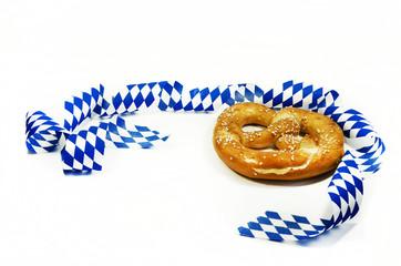 Oktoberfest, Volksfest, fair, auf weiss
