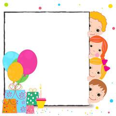 Birthday celebrating vector