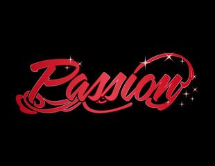 Passion word design