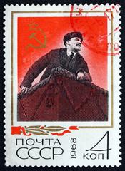 Postage stamp Russia 1968 Vladimir Ilyich Lenin