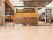 Kontrollstelle am Flughafen