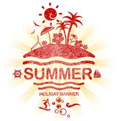 summer silhouette