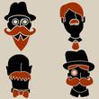 Moustache Men