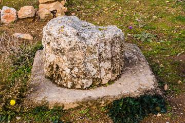 Pillar close-up, Greece