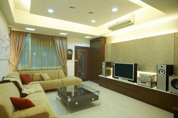 The image of modern room in Asia